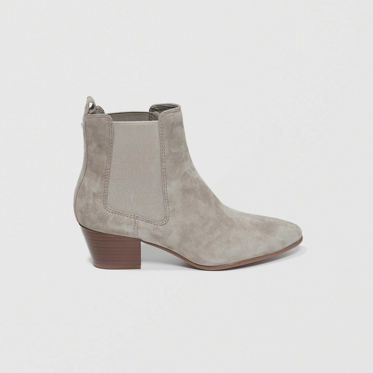 3ad90c95e Lyst - Sam Edelman Reesa Booties in Gray