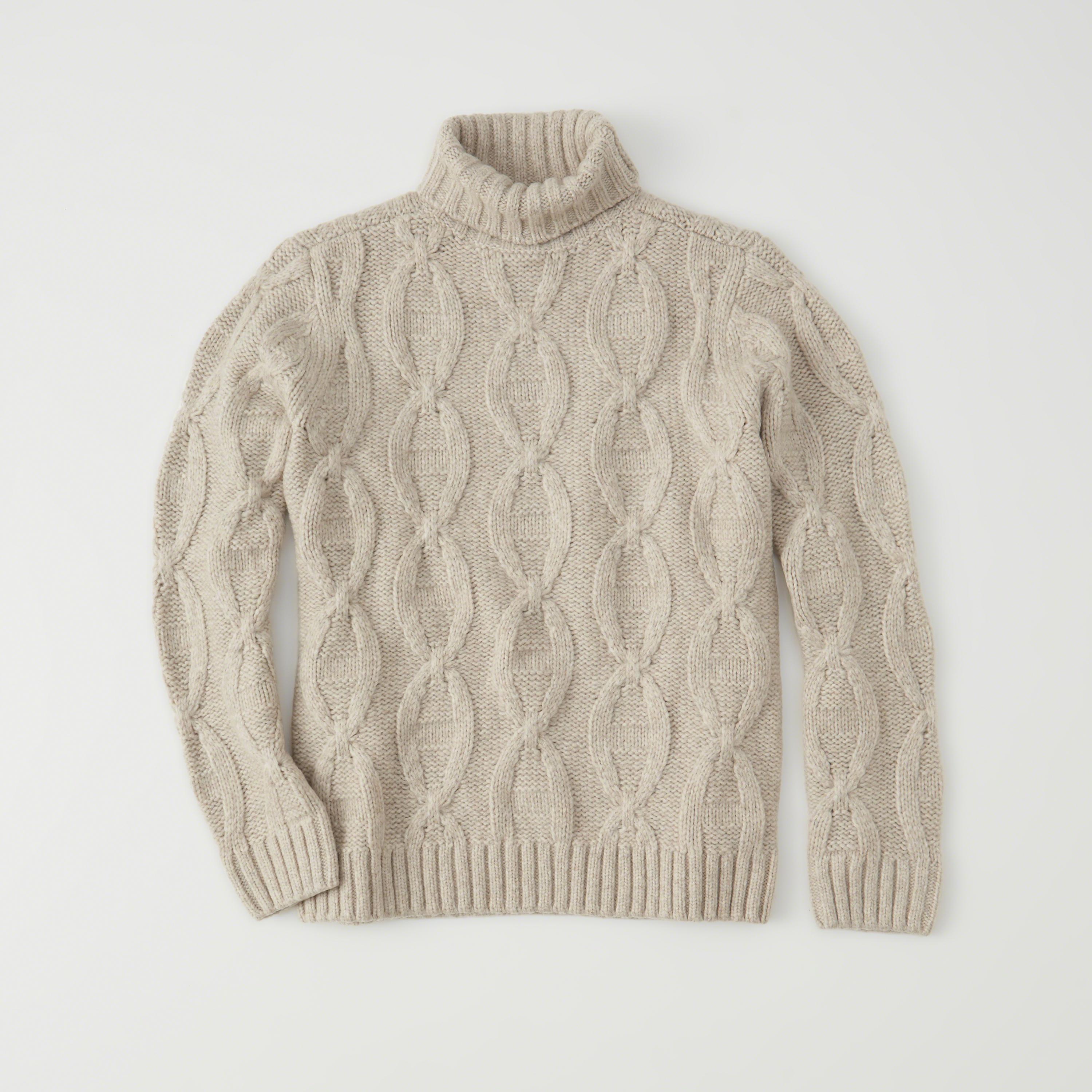 Abercrombie & fitch Airspun Turtleneck Sweater Exchange Color ...