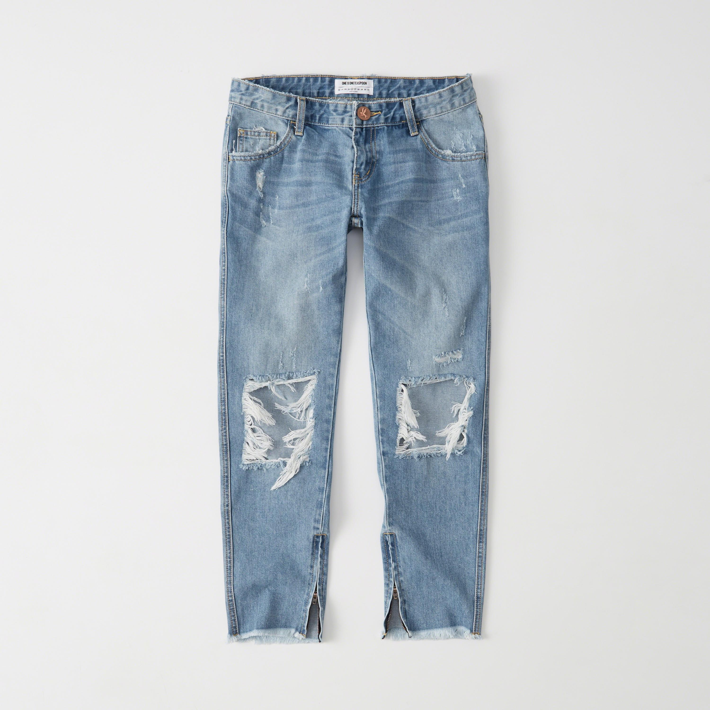 abercrombie fitch one teaspoon freebird jeans in blue lyst. Black Bedroom Furniture Sets. Home Design Ideas