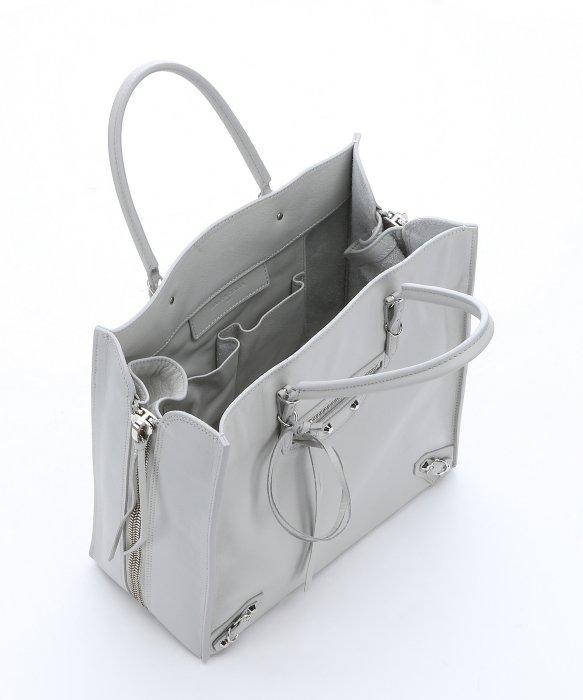 c3c69b32b4 Balenciaga Light Grey Calfskin  u0026 39 papier A5 u0026 39 . balenciaga  outlet online ...