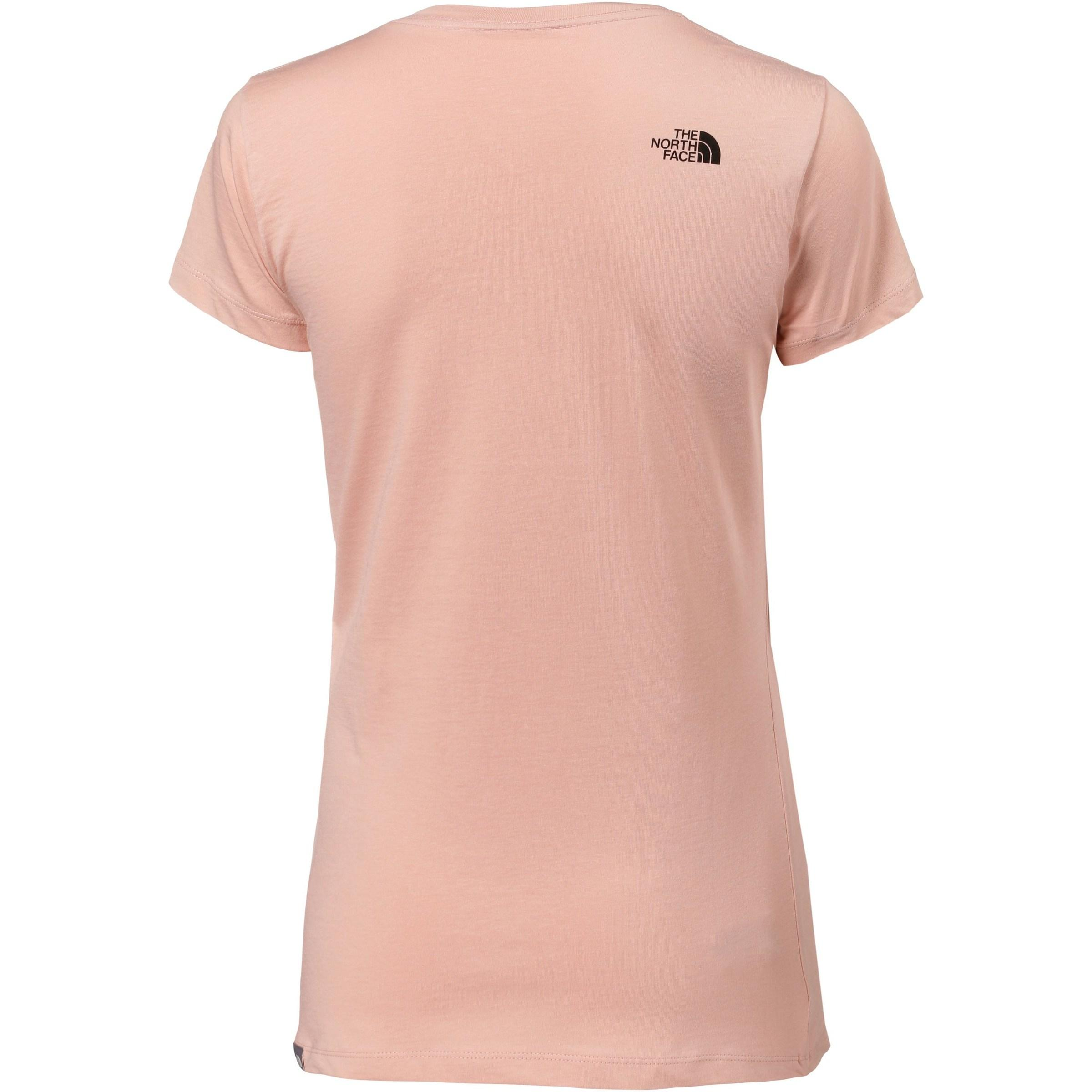 The North Face EASY T-Shirt Damen in Pink cIsfO