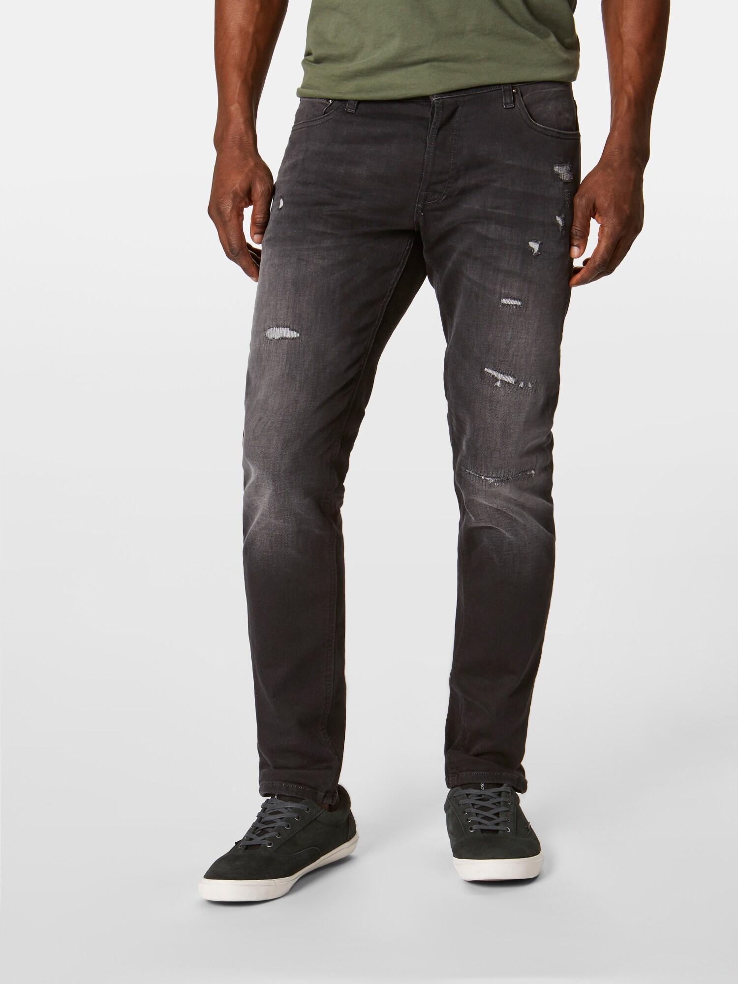 Jack & Jones Denim Jeans 'GLENN ORIGINAL JOS 467 INDIGO KNIT' in Schwarz für Herren a5gLy