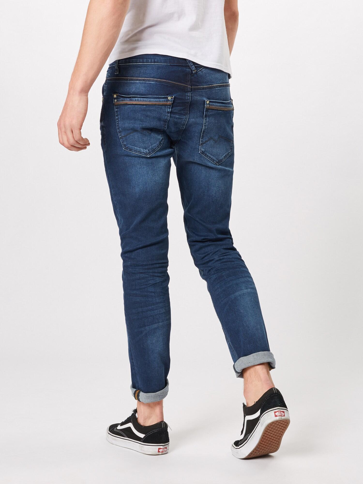 Blend Denim Jeans 'Twister Regular Straight' in Blau für Herren hAORT
