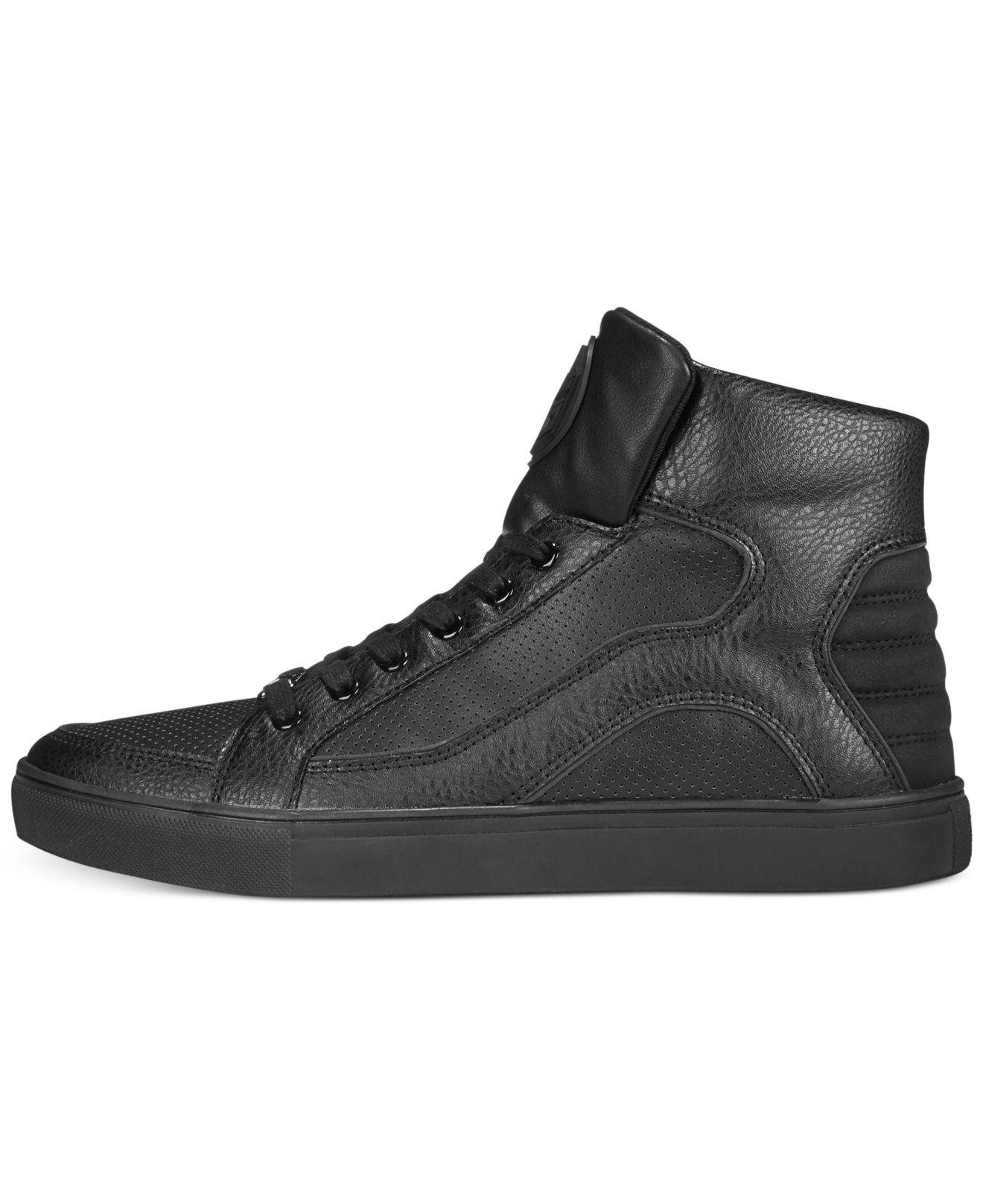 Guess Thorley Mens Black Sneakers