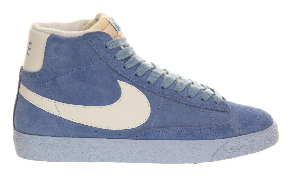 ... Nike Blazer Hi Suede Vintage in Blue for Men | Lyst ...