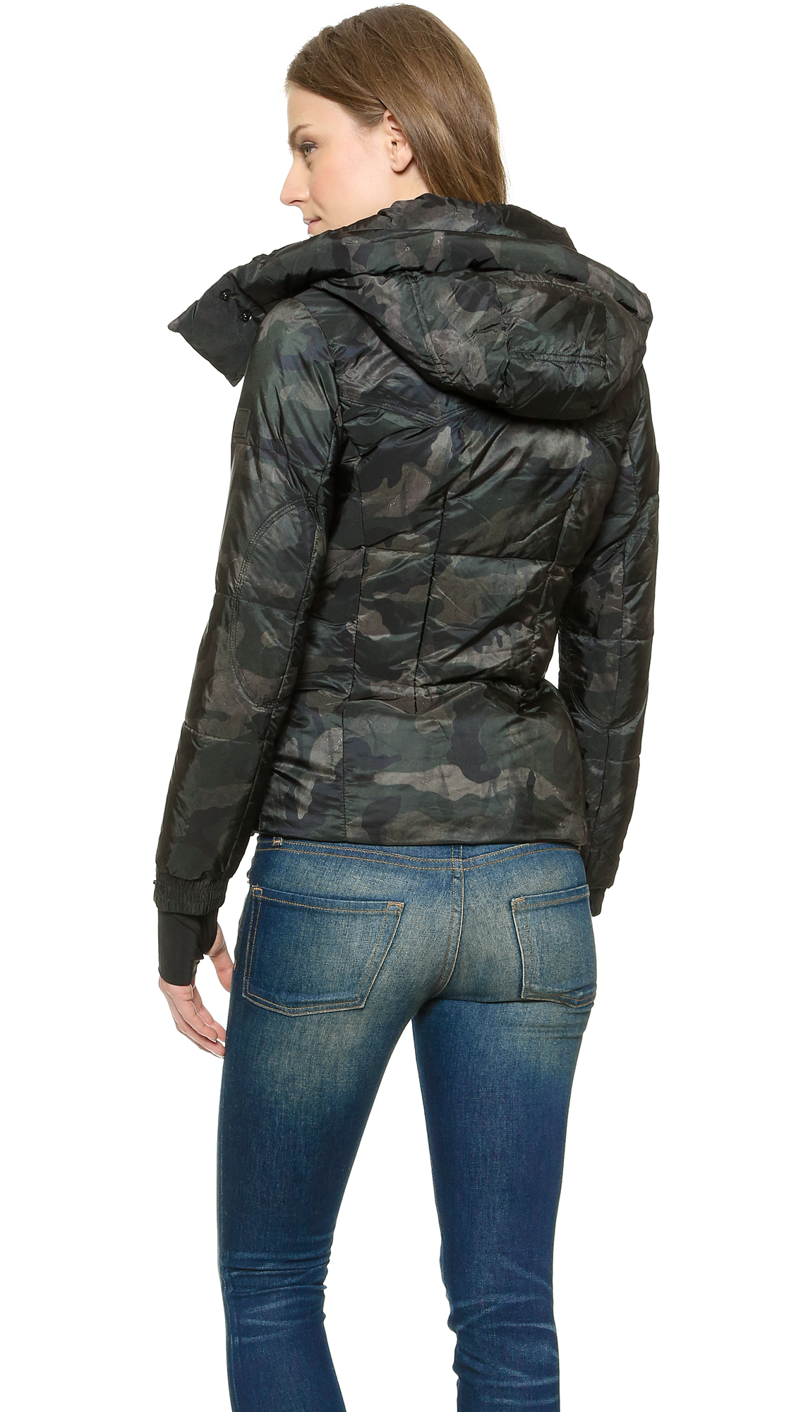 Sam. Jetset Jacket - Dark Camo in Green | Lyst Giorgio Armani Jacket