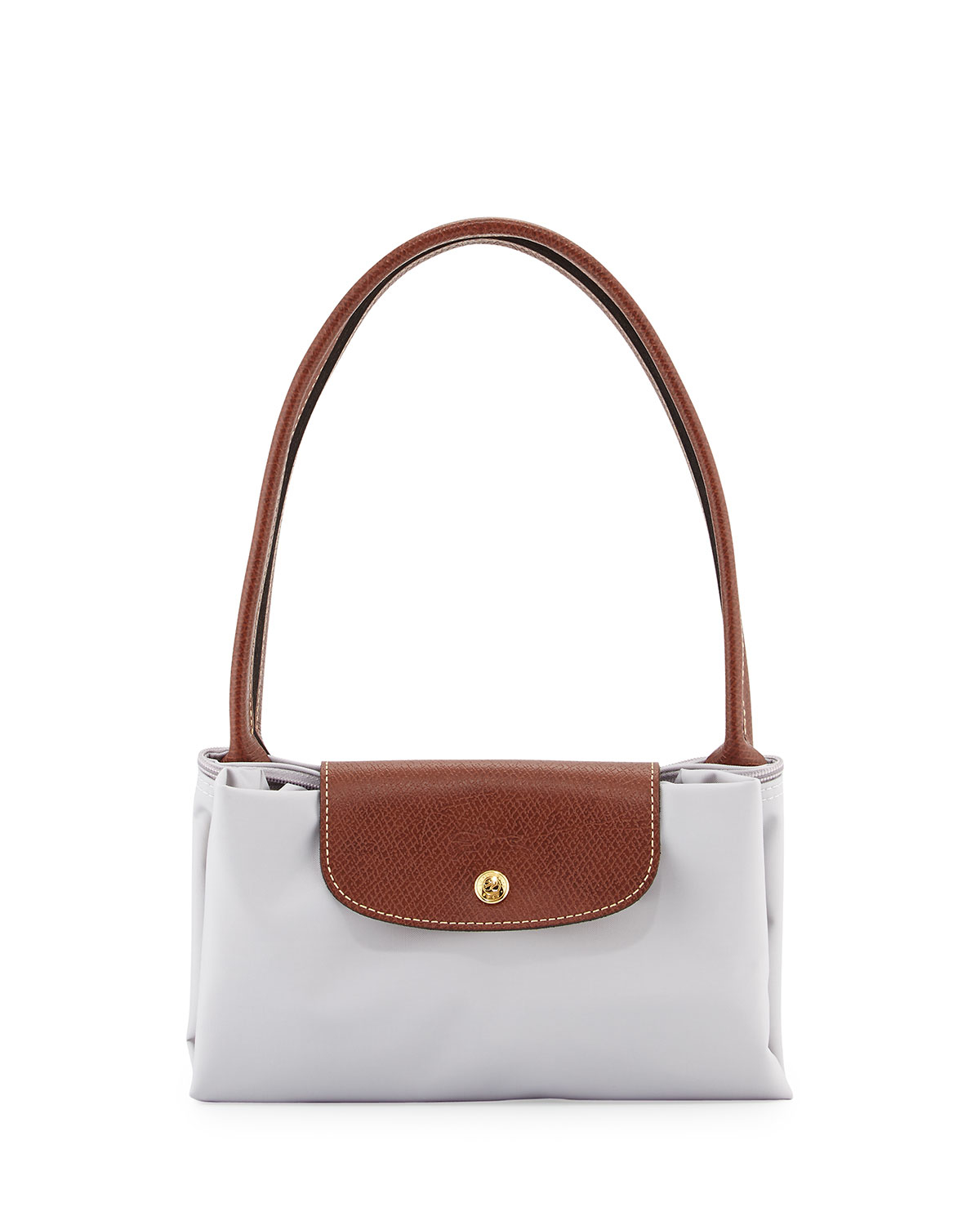 lyst longch le pliage large shoulder tote bag in white