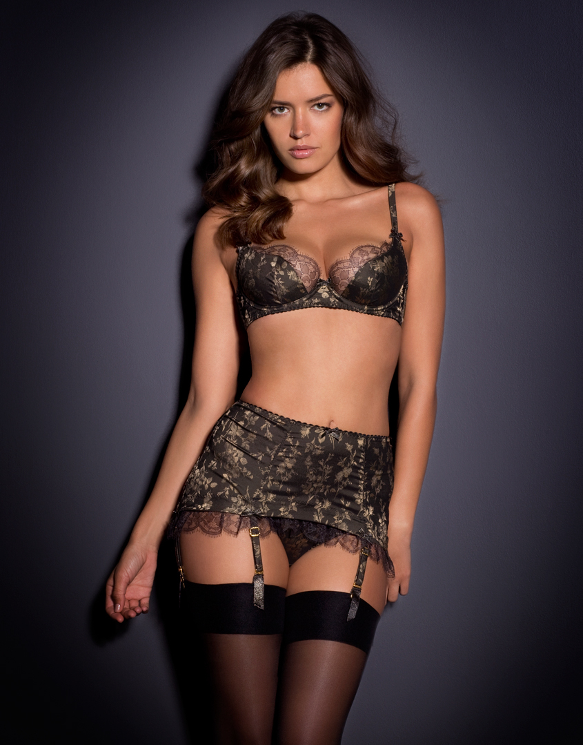Agent Provocateur Leoni Roll On Blackgold In Black Lyst 8e56091c2