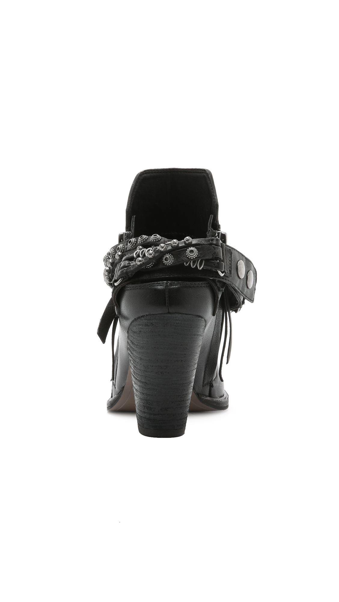 Dolce Vita Hollice Studded Booties - Black