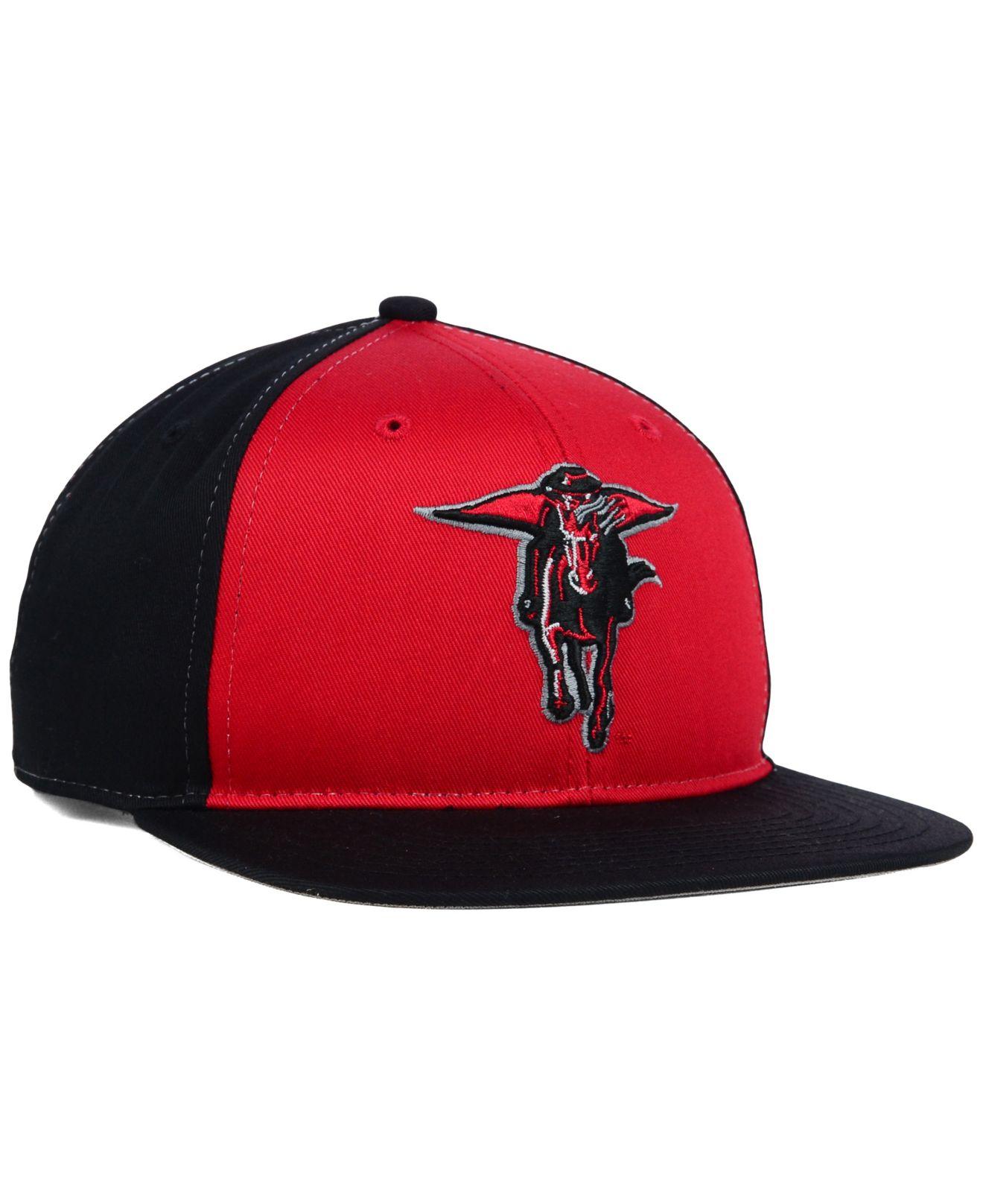 68e16522 47 Brand Kids' Texas Tech Red Raiders Snapback Cap