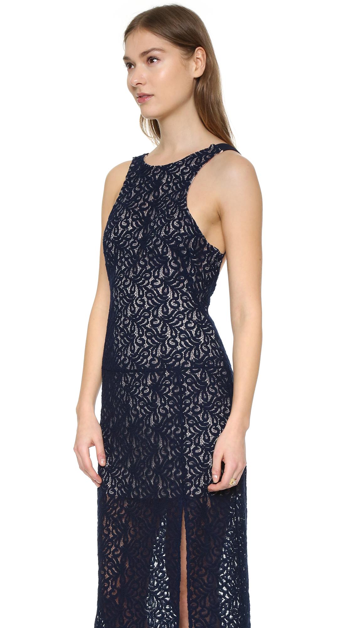 Indigo Lace Dresses