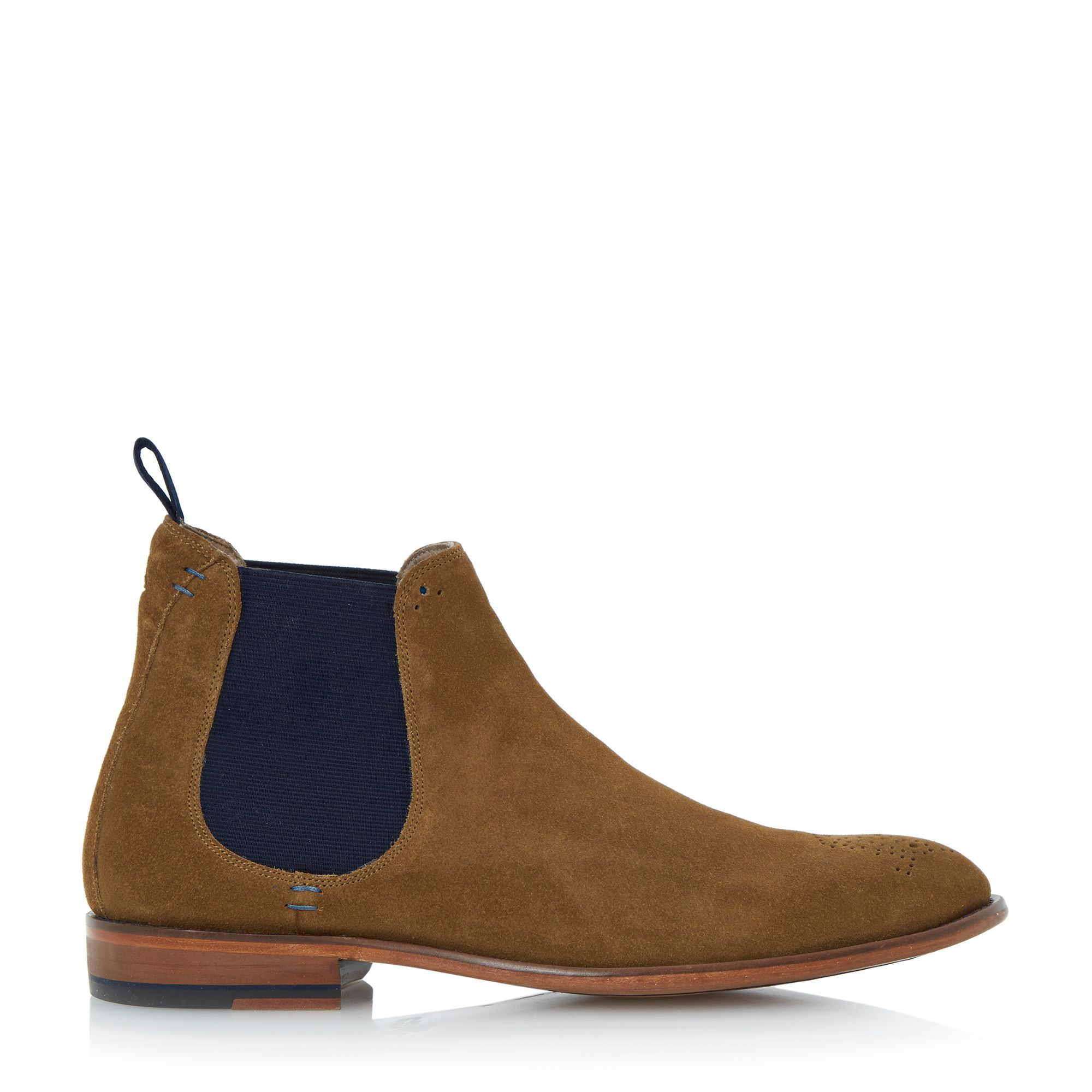 oliver sweeney silsden brogue toe chelsea boots in brown for men tan. Black Bedroom Furniture Sets. Home Design Ideas