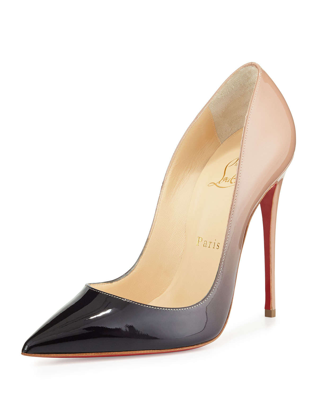christian louboutin paris black shoes