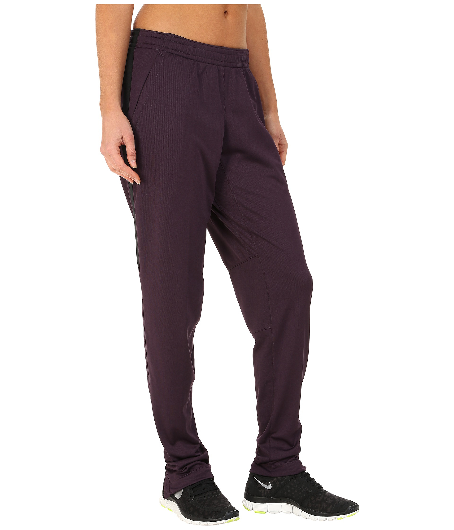 Nike Academy Knit Soccer Pant in Purple | Lyst