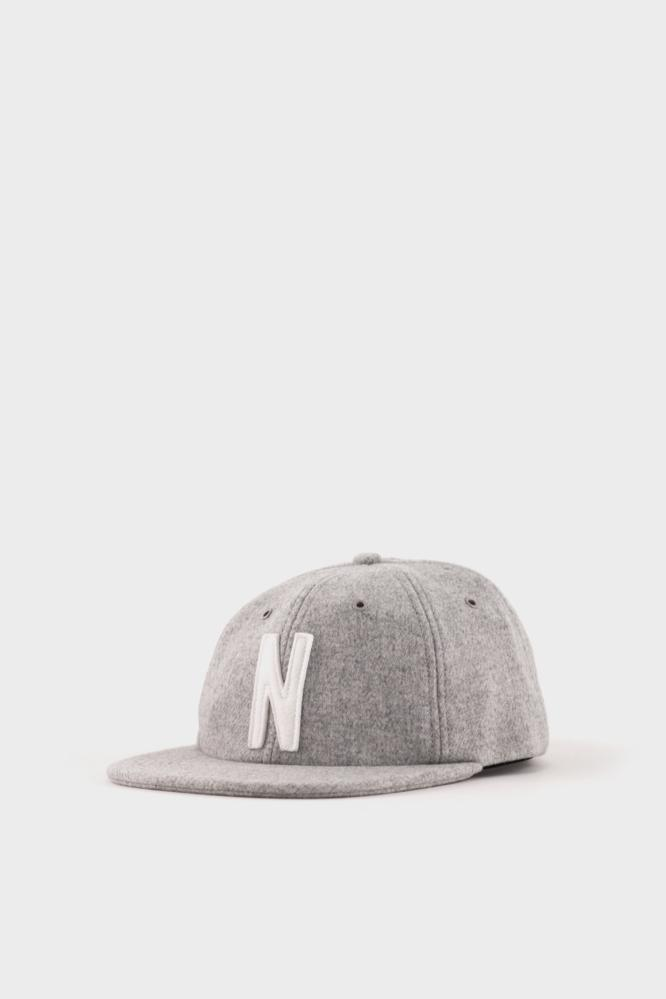 9f85b388f60 Norse Projects Wool Cap Grey in Gray for Men - Lyst