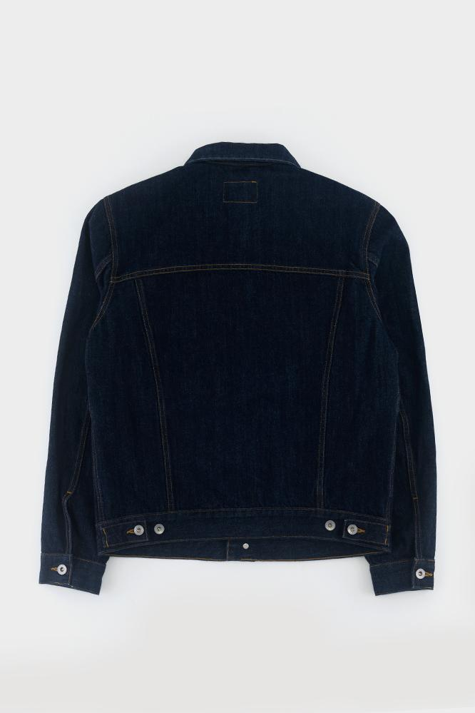 Albam Japanese Denim Utility Jacket Navy in Blue for Men