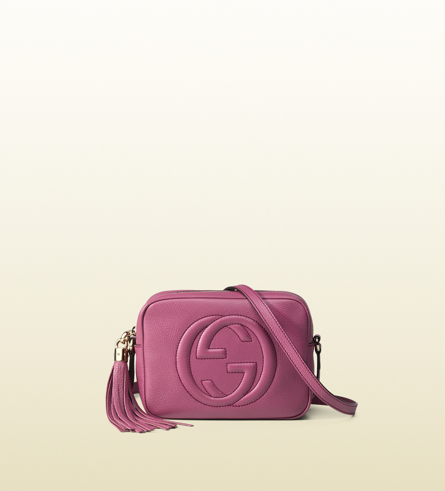 2bd5eaf4f70 Gucci Soho Leather Disco Bag in Pink - Lyst
