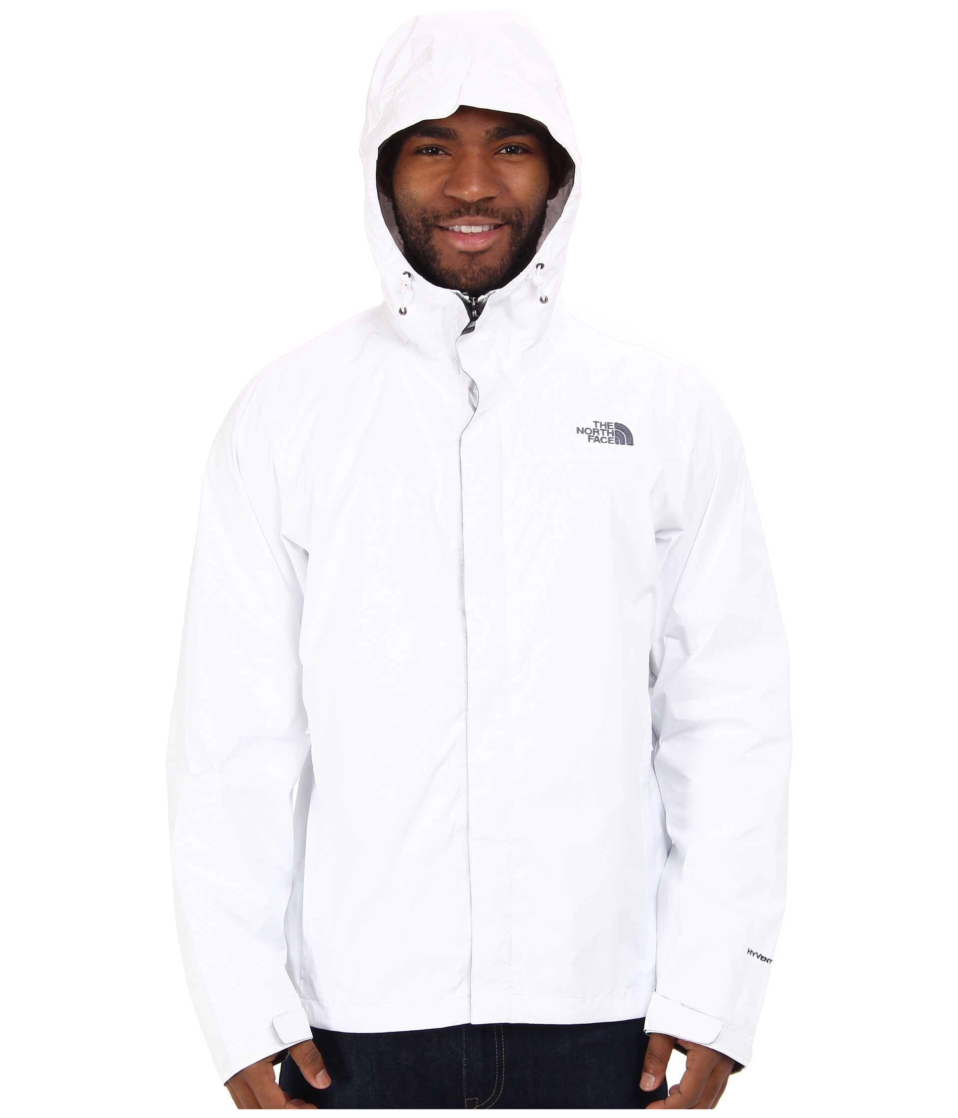 a10b0ec9b The North Face Venture Jacket in White for Men - Lyst