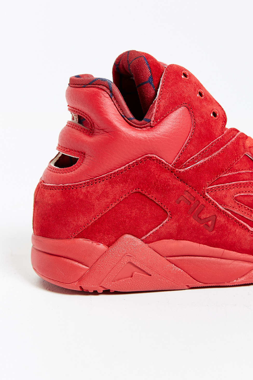 Fila Suede The Cage Sneaker in Red for