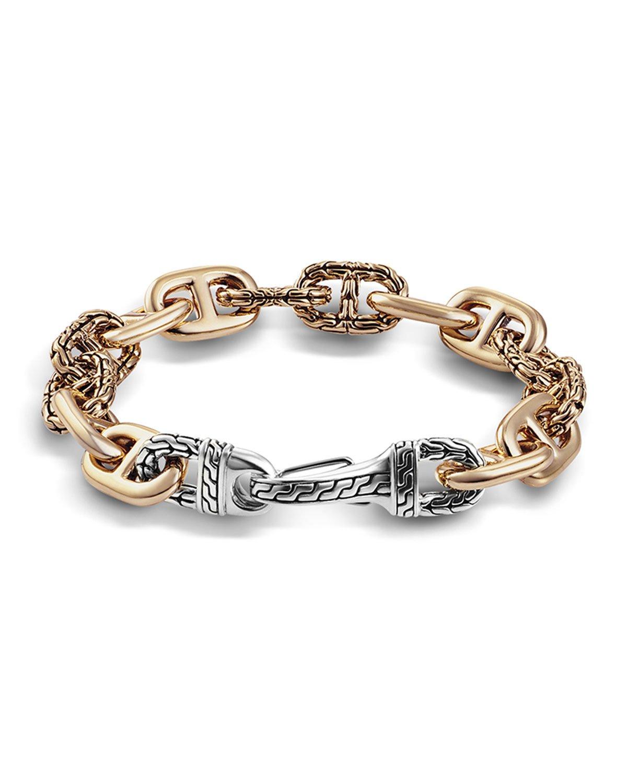 White gold hand bracelet for