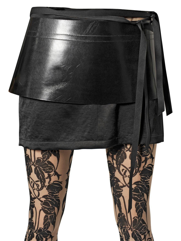 Ann demeulemeester 190mm Leather Skirt Belt in Black | Lyst