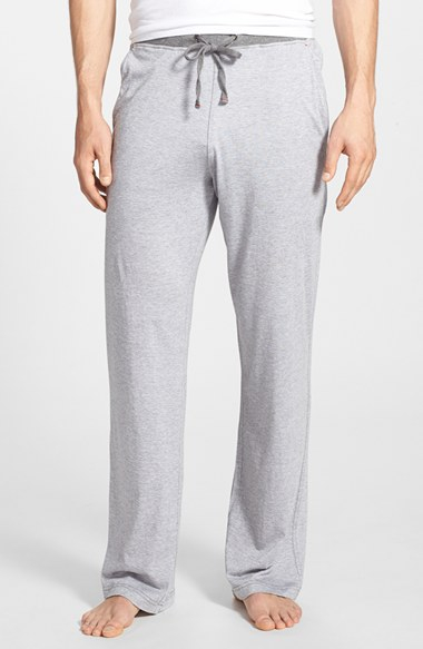 Daniel Buchler Pima Cotton Amp Modal Lounge Pants In White