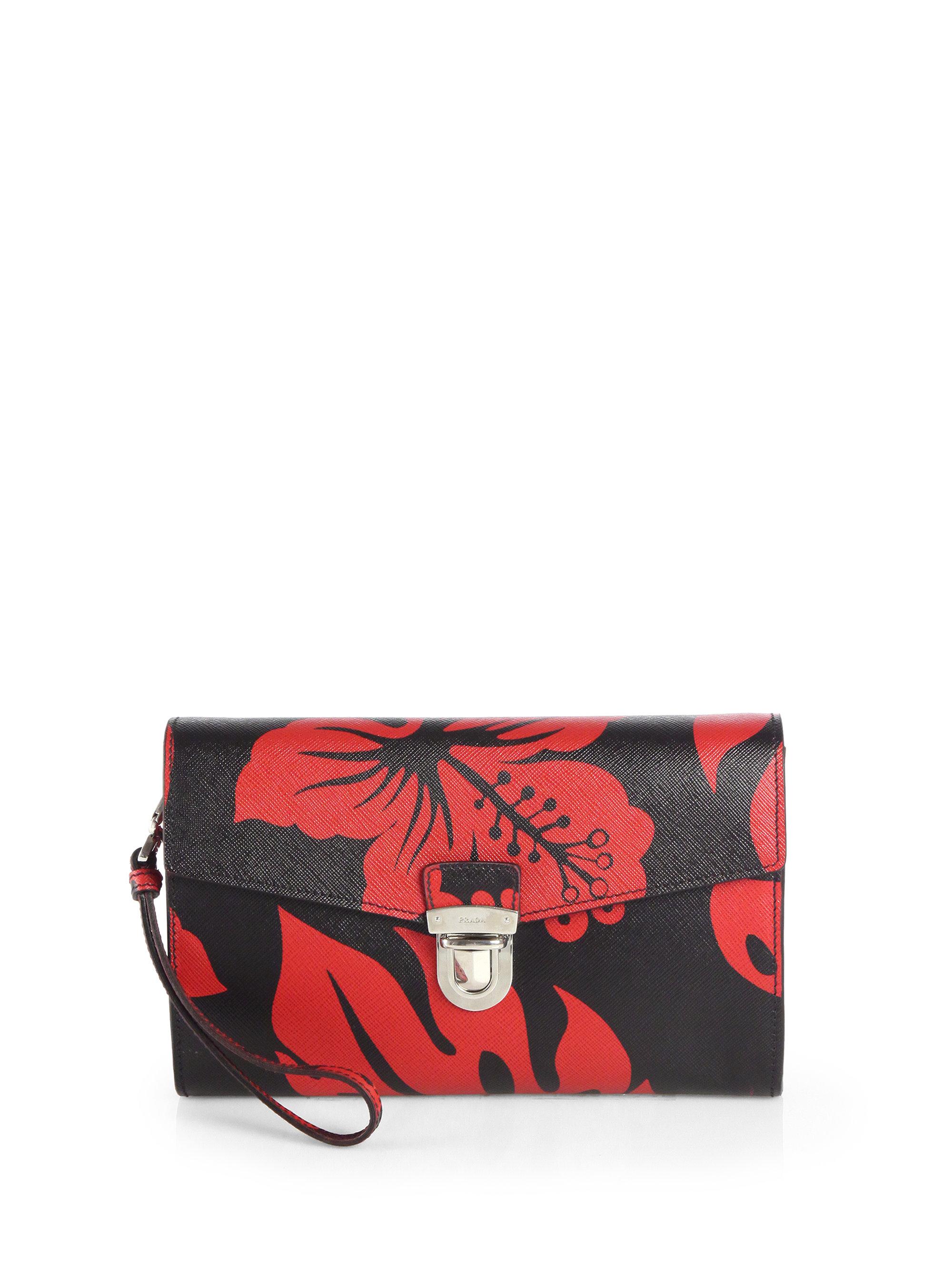 red prada purse price - prada push lock portfolio saffiano leather large, prada small handbags