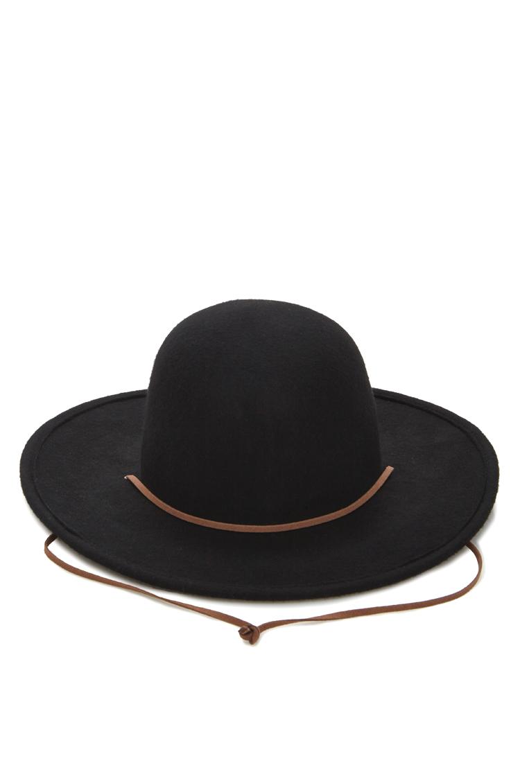4ca19017cf0 Lyst Forever 21 Men Wide Brim Wool Hat In Black. Elehelm Hat Cowboy Hats  Felt ...