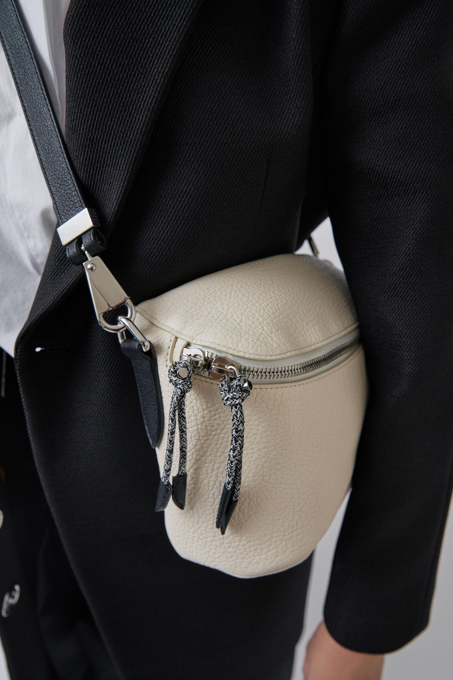acne rope messenger bag