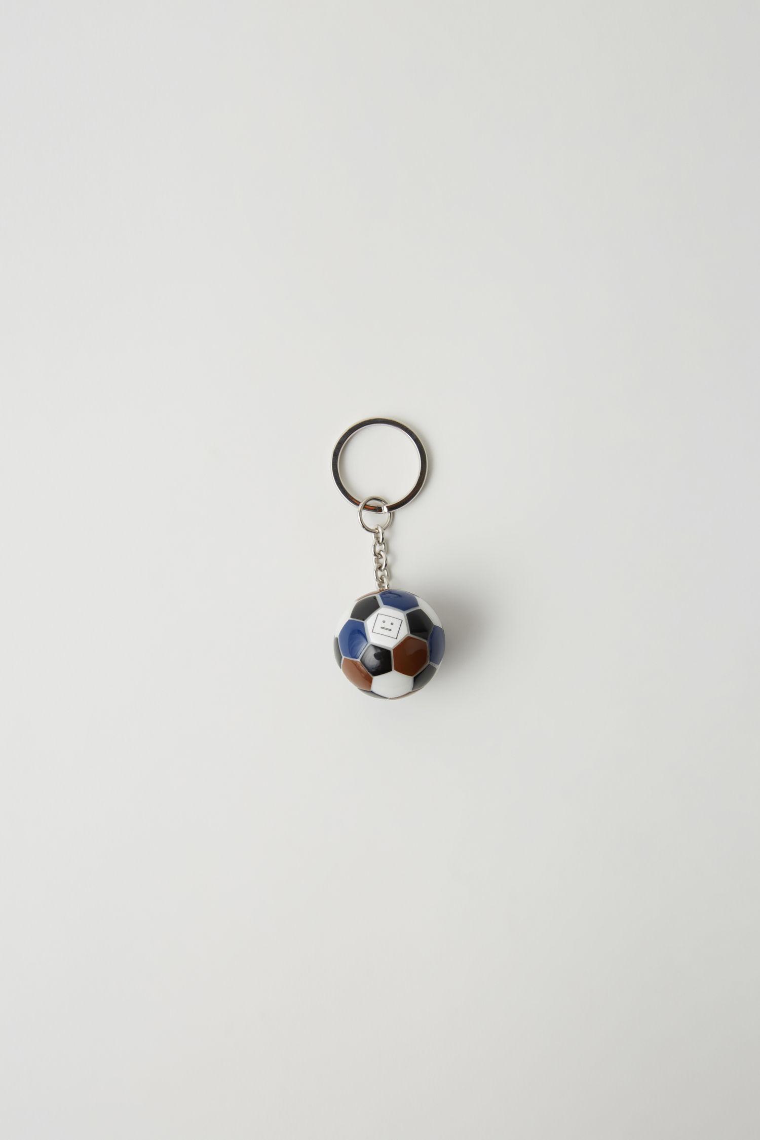 8a38de9caf8 Lyst - Acne Studios Football Keychain brown blue in Brown
