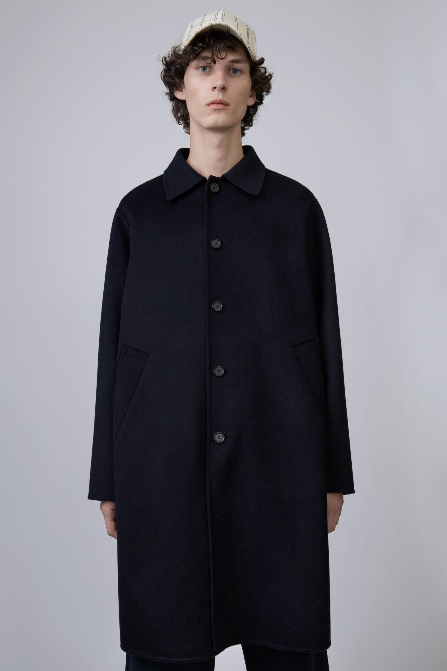 Tailored Studios Coat Bleu Acne Matthew 4qXw77