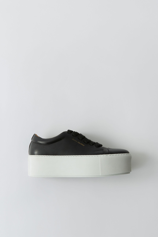 873716c32e01 Acne - Multicolor Drihanna Logo Black white Platform Sneakers - Lyst. View  fullscreen