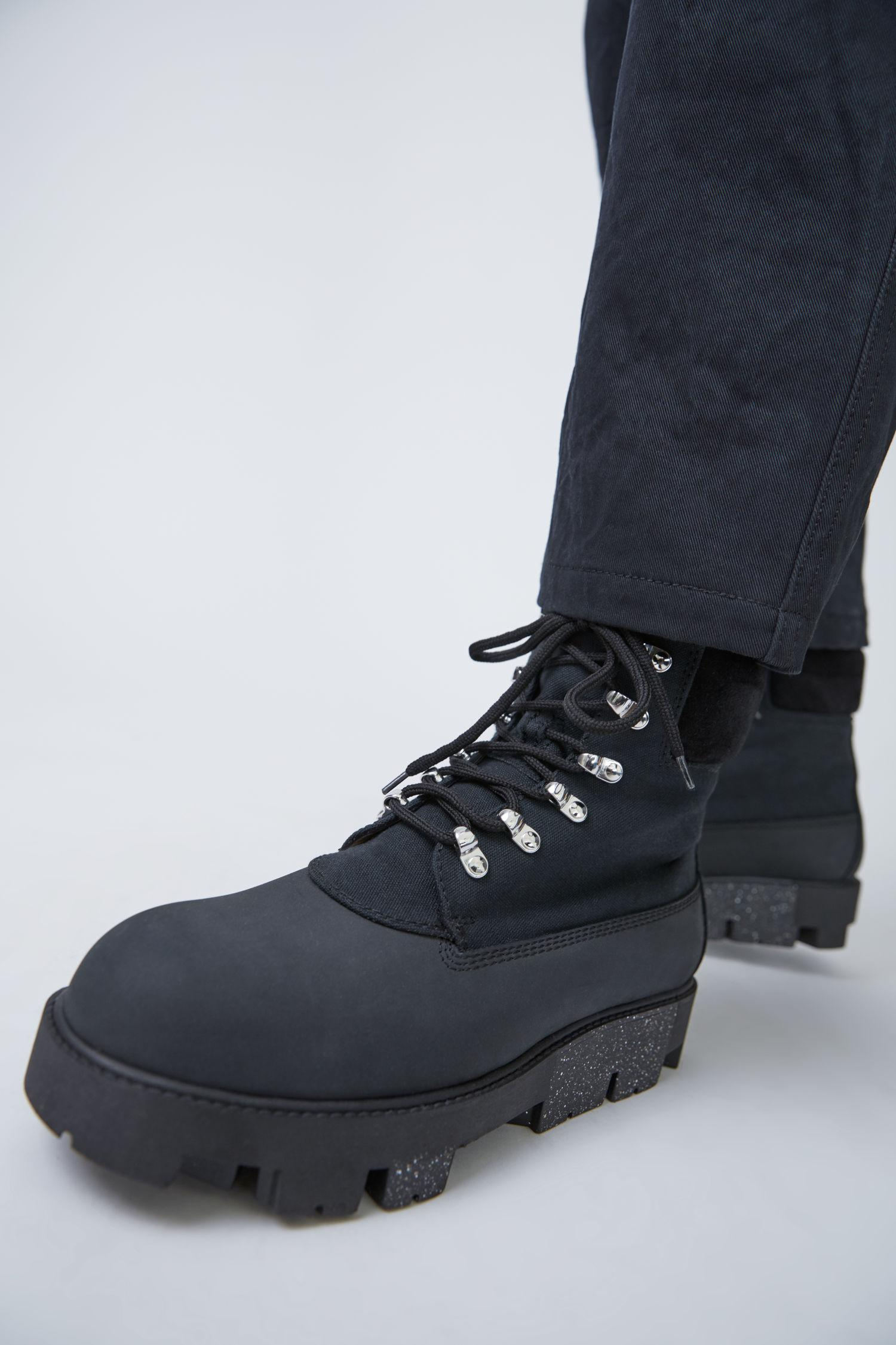 d346b8ac611 Acne Ugo Black Hiking Boots for men