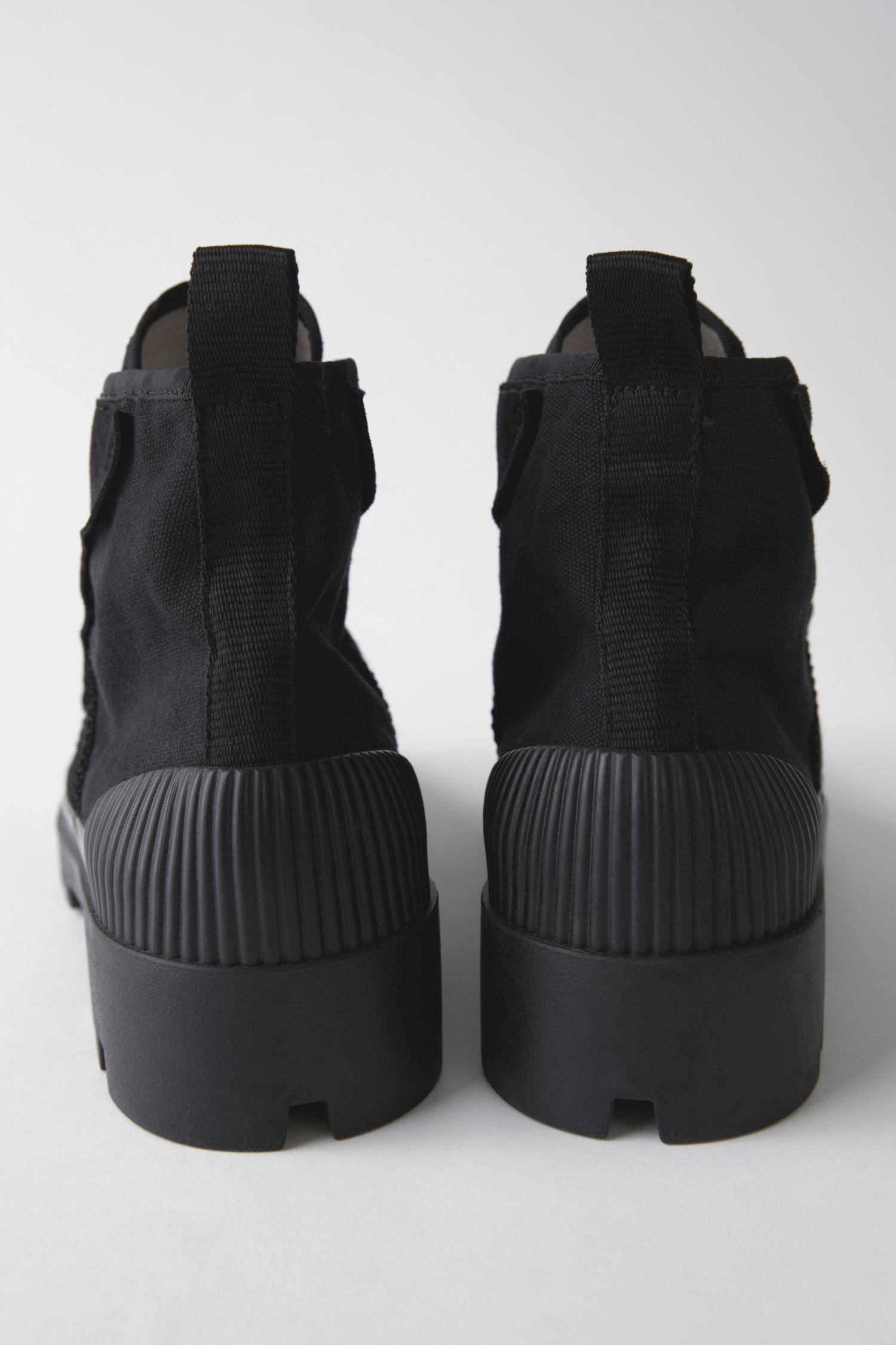 Acne Studios Canvas Dinila solid Black for Men