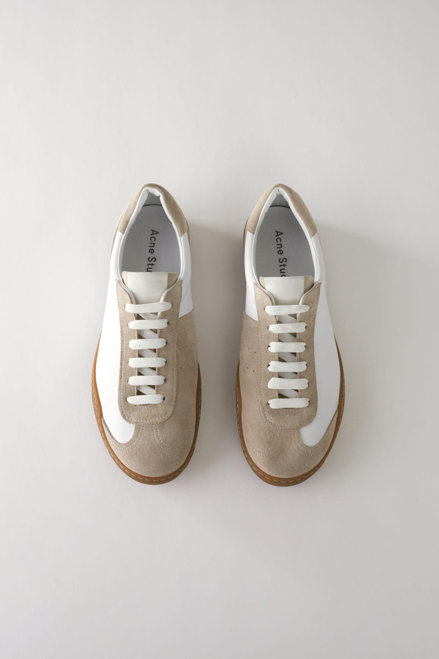 Acne Leather Lars Sneakers WIOeriQCh