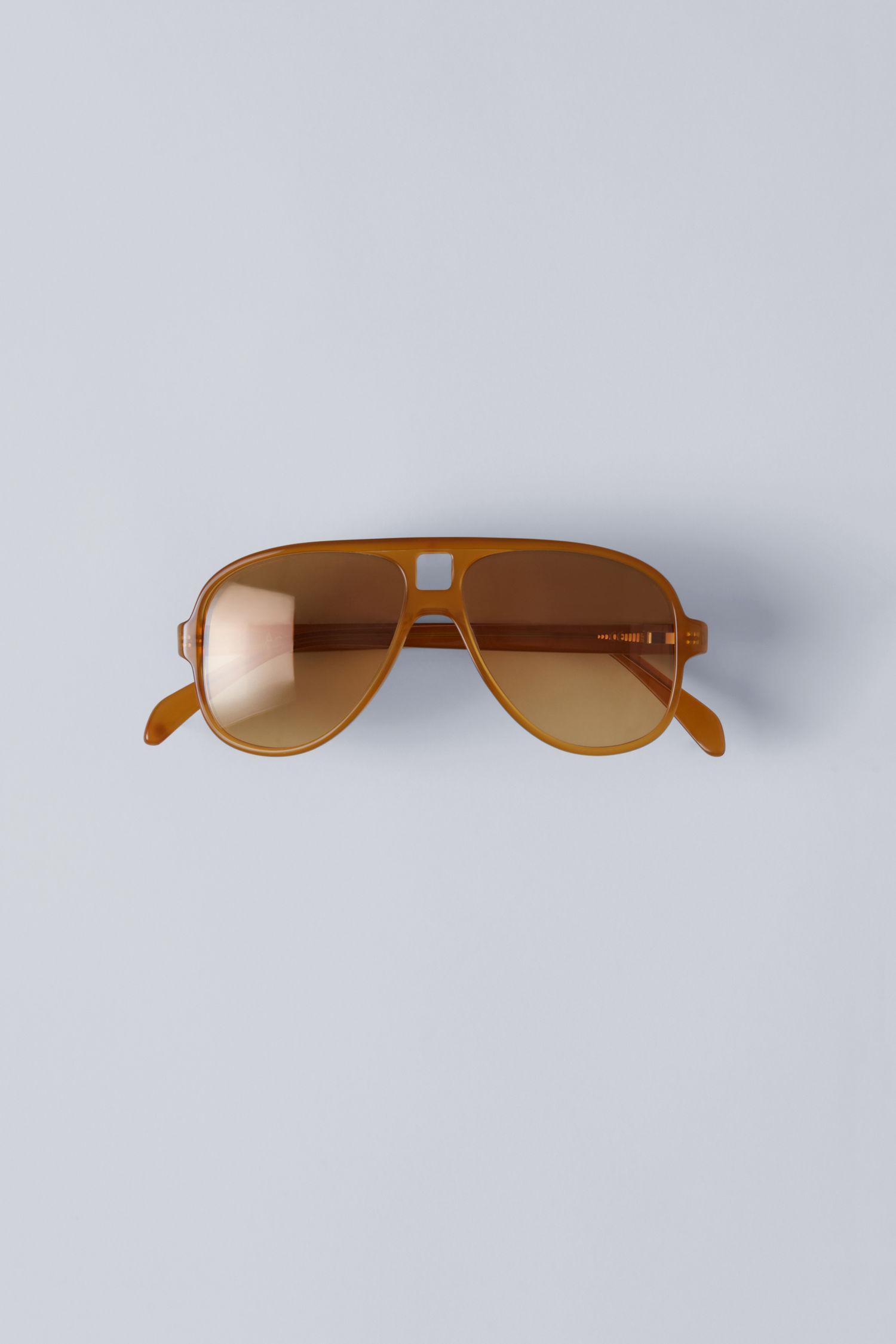 Acne Studios Sonnenbrille Hole Tortoise 8MZM7