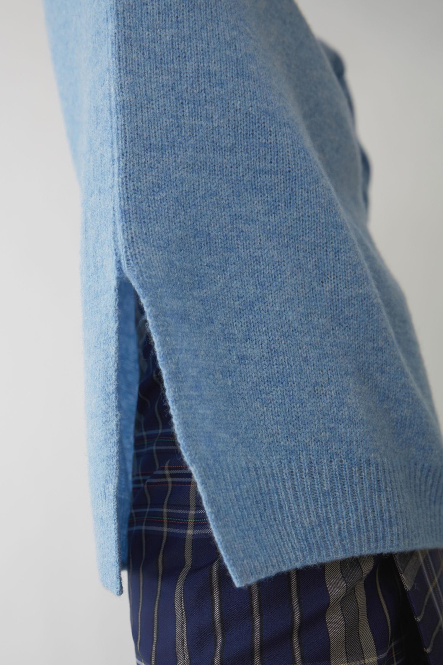 bb1e58a6 Acne Studios Loose Fit Sweater light Blue Melange in Blue - Lyst