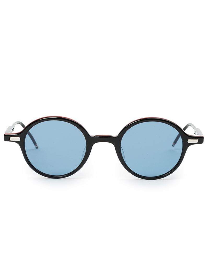 Lowest Price Cheap Price Outlet Fast Delivery round frame sunglasses - Black Thom Browne Explore Cheap Price Cheap Sale Comfortable Vn4XK