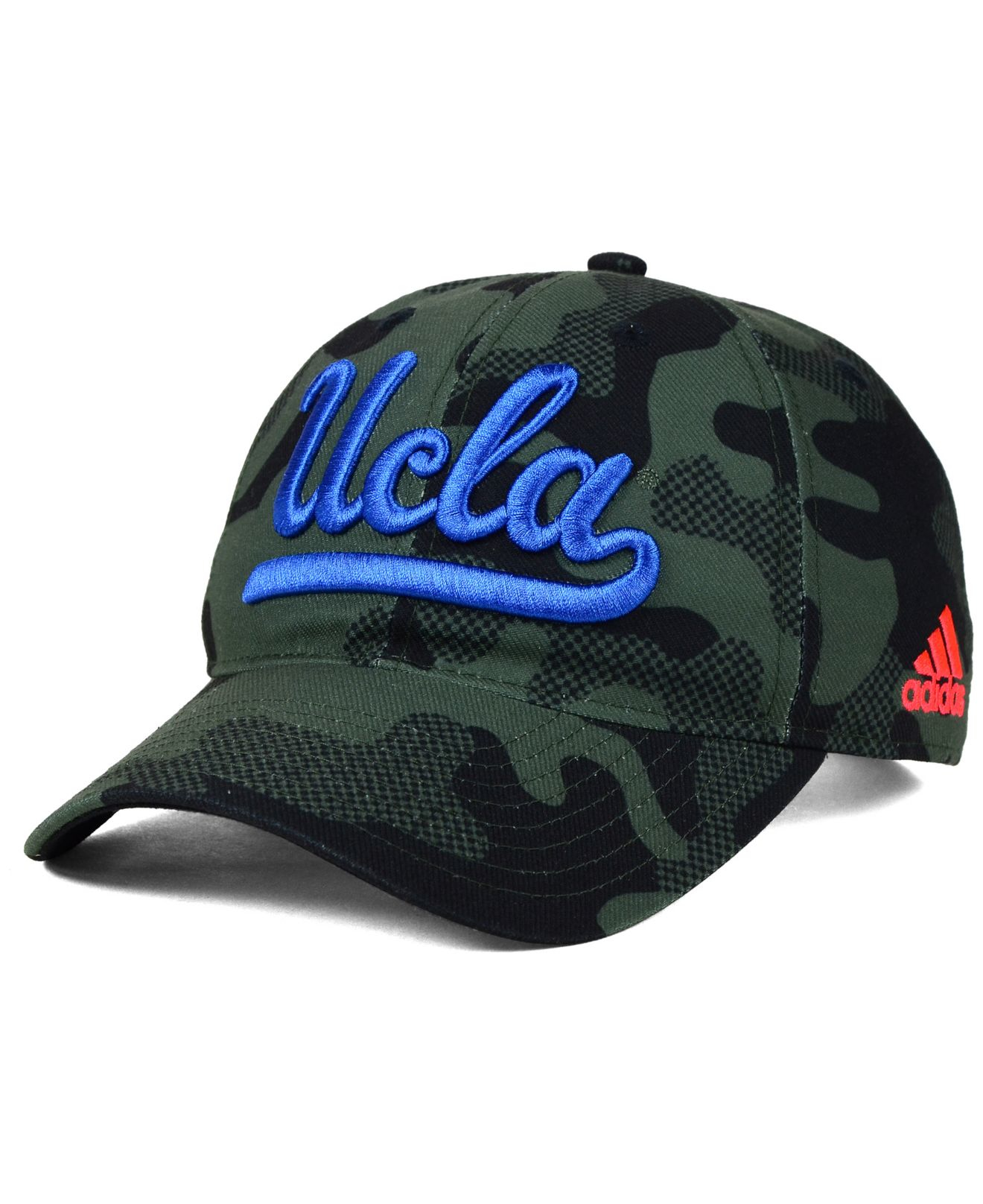 low priced 45d3c 08b6a ... hat cebf5 de53d  uk lyst adidas ucla bruins veterans day camo slouch adjustable  cap in 11899 76104