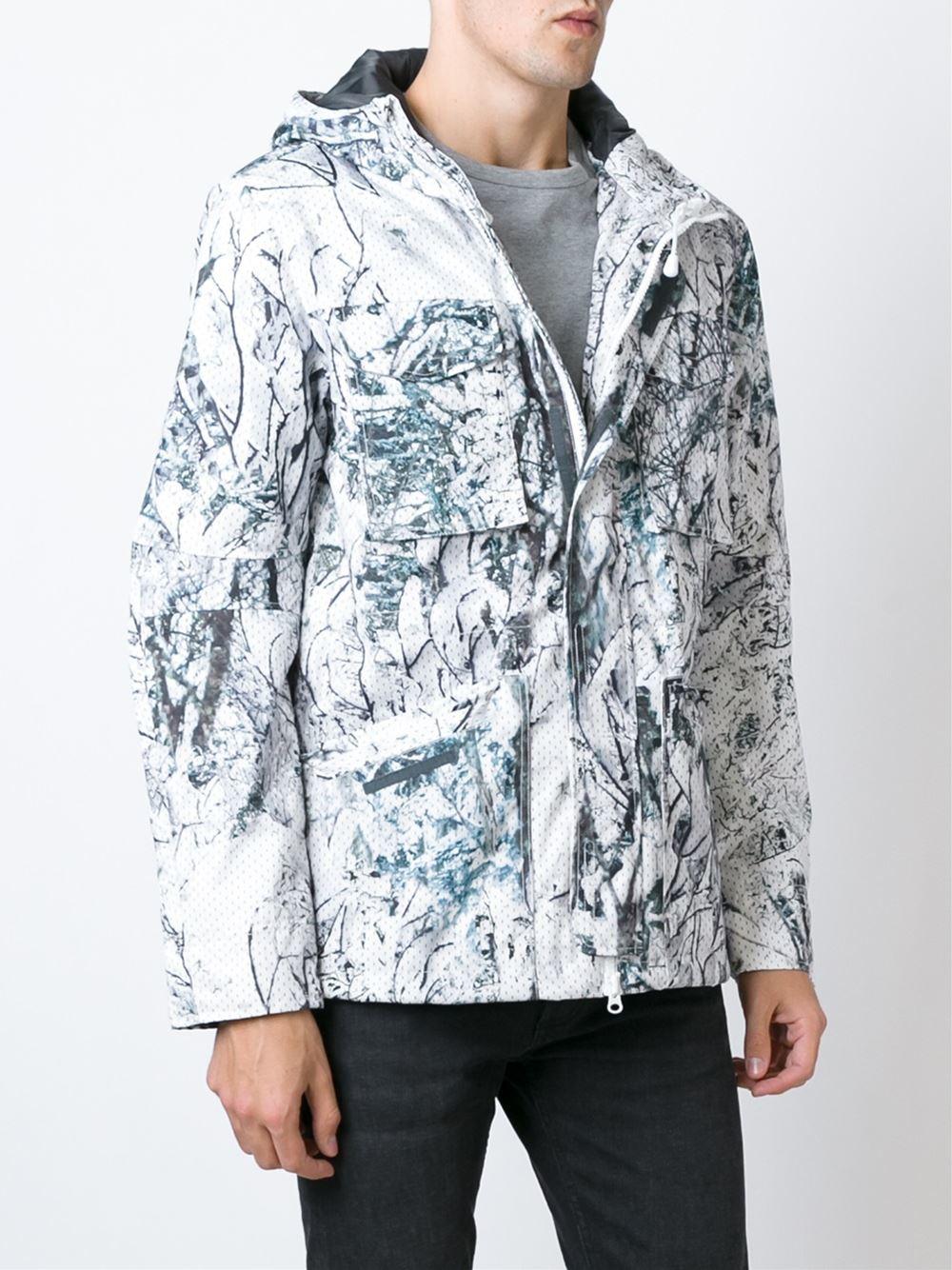Lyst Adidas Originals Snow Camo Sport Jacket In White