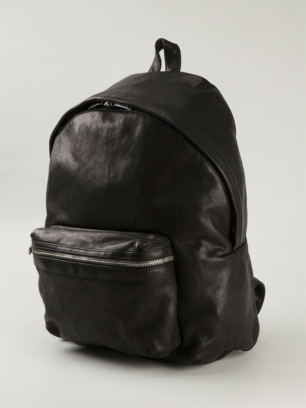 c8e69e96244 ... Lyst black ysl bag - Saint laurent Hunter Calf-Leather Backpack in Black  for Men ...