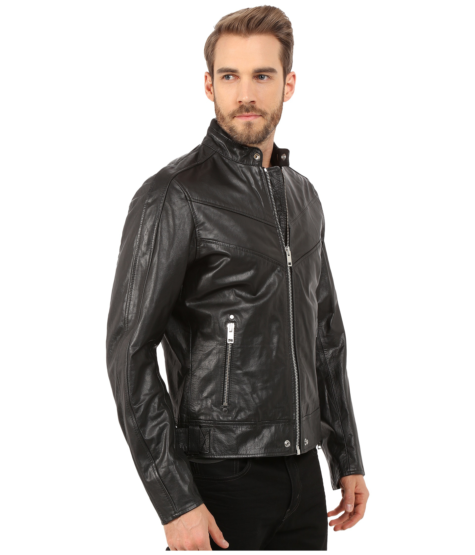Diesel L Reed Jacket In Black For Men Lyst