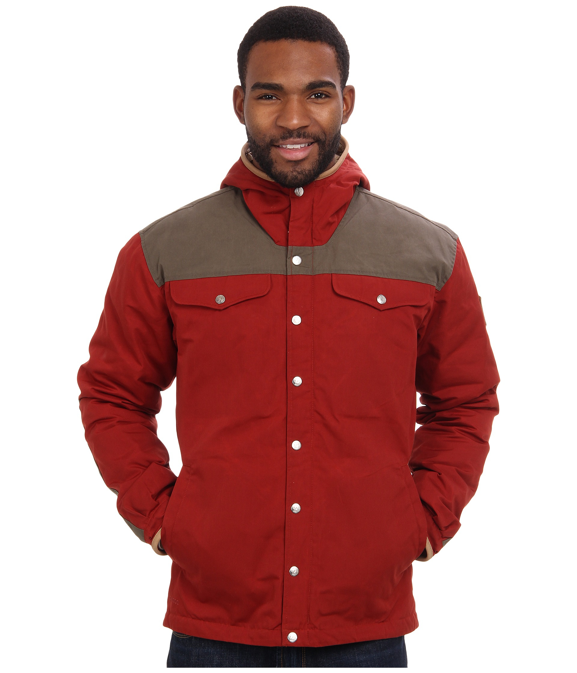 Lyst Fjallraven Greenland No 1 Down Jacket In Red For Men