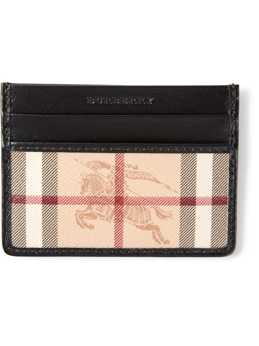 cheaper 15c21 6c227 Burberry Multicolor Sandon Card Holder for men