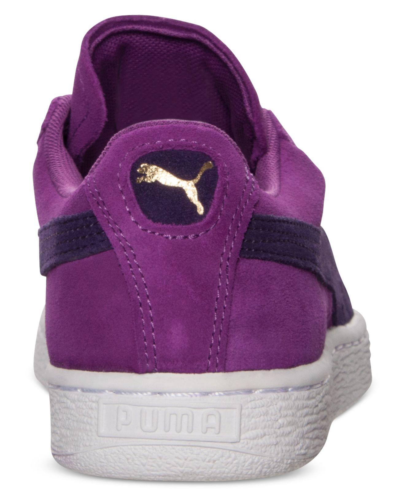 puma womens purple shoes