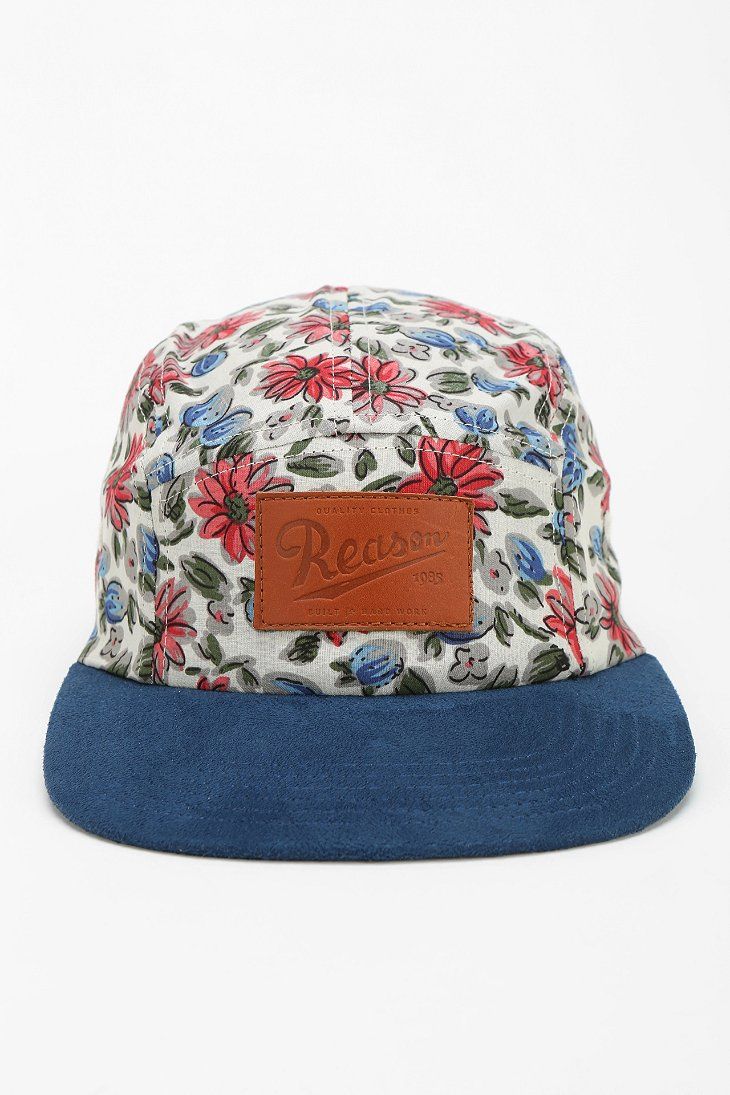 Lyst - Urban Outfitters Reason Floral Snapback Hat 138cf6dcebb