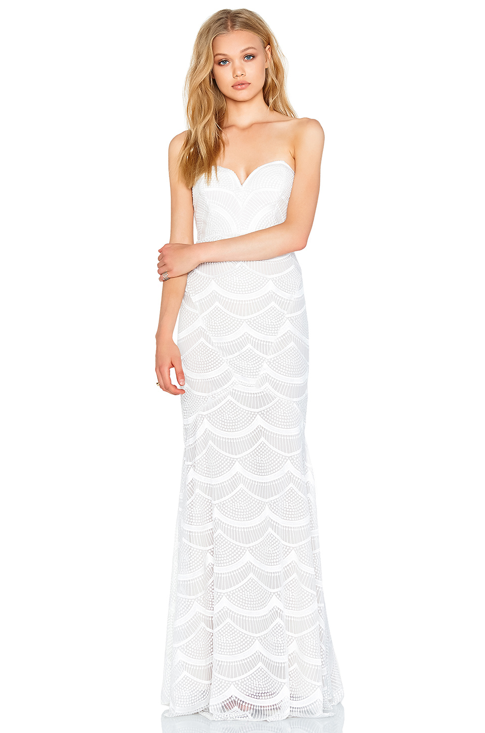 Lyst - Stone Cold Fox Market Gown in White