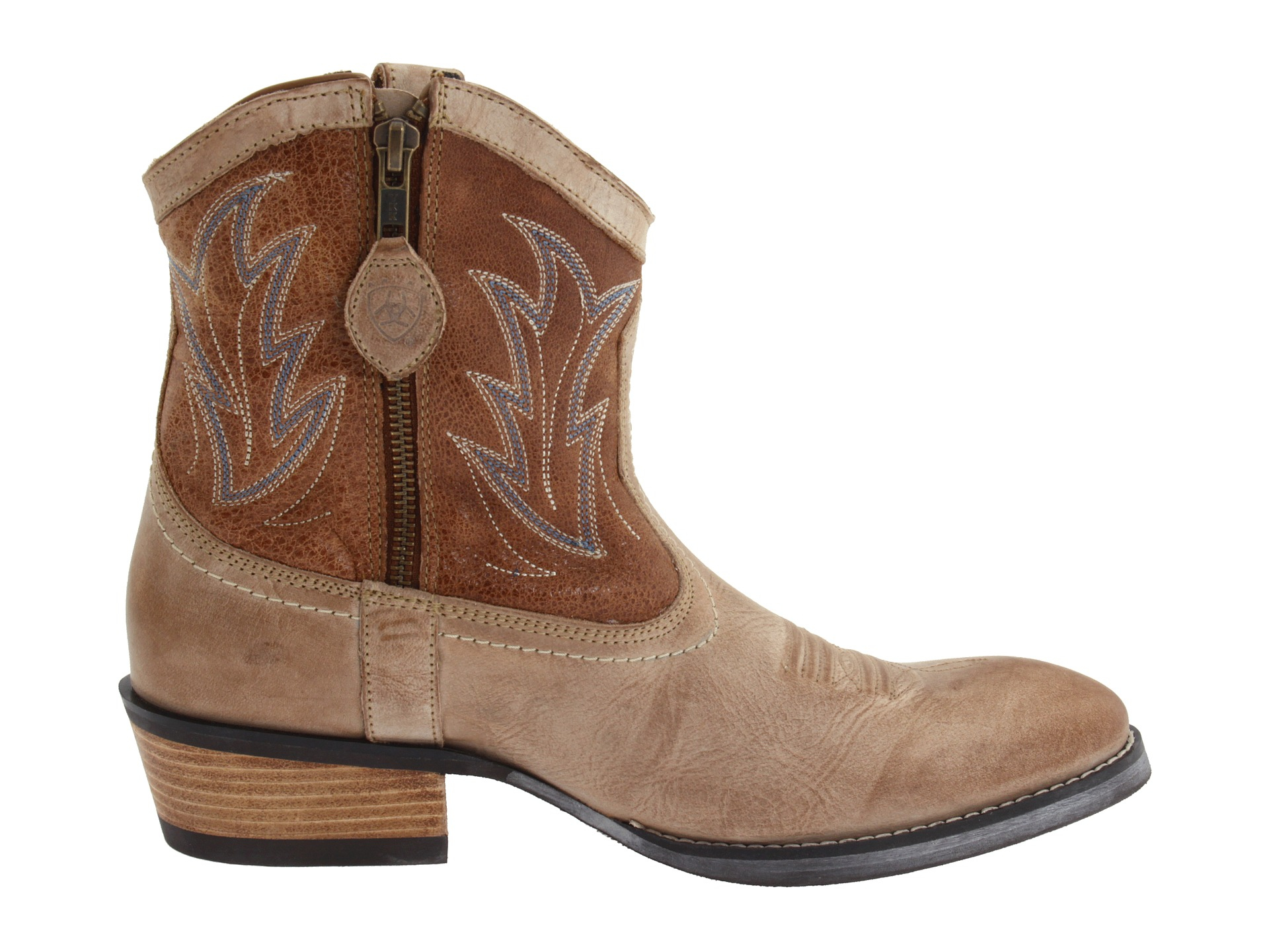 Ariat Ariat Womens Billie Western Boot In Brown Lyst