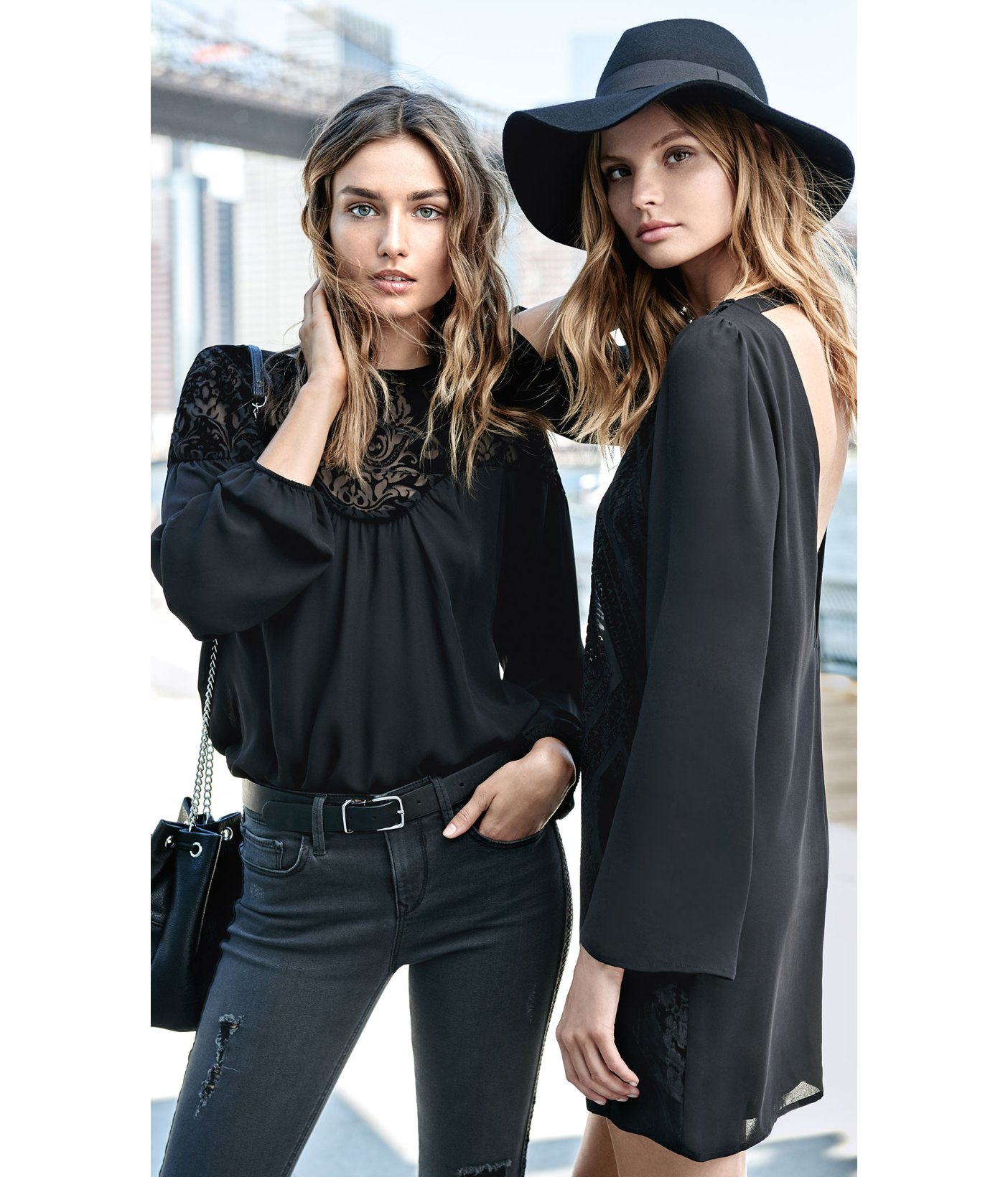 Lyst - Express Black Wool Matador Hat in Black fd5dba0bf98