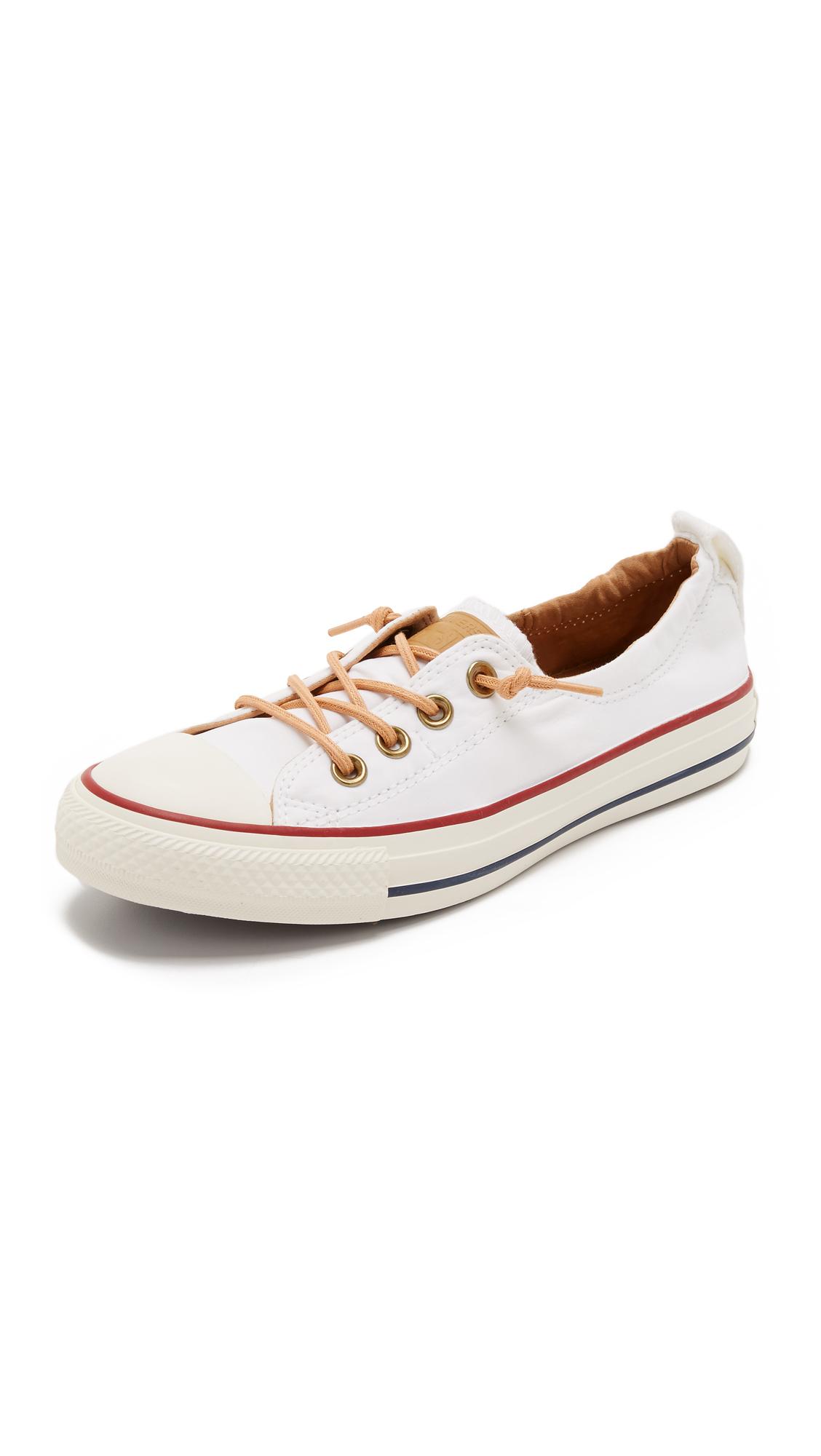 e79549ba956 Converse White Chuck Taylor All Star Shoreline Sneakers